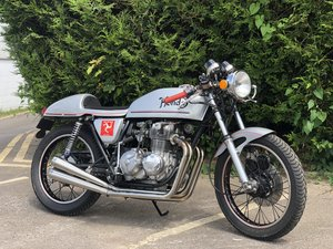Honda 1976 mk 1 CB 400 four super sport special cafe racer SOLD