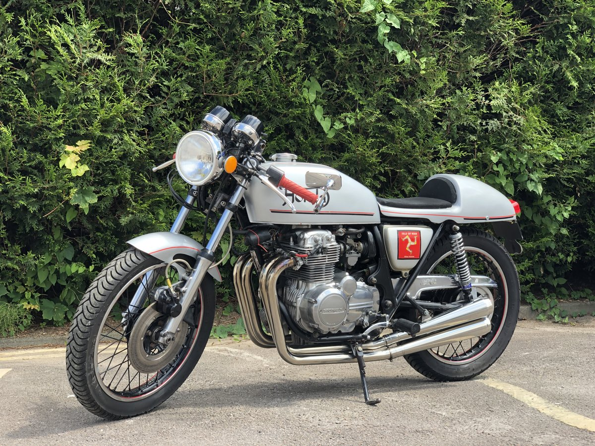 Honda 1976 mk 1 CB 400 four super sport special cafe racer SOLD (picture 2 of 6)
