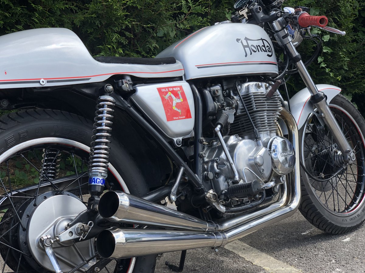 Honda 1976 mk 1 CB 400 four super sport special cafe racer SOLD (picture 6 of 6)