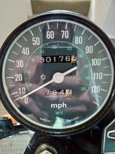 1977 Honda Cb550 four