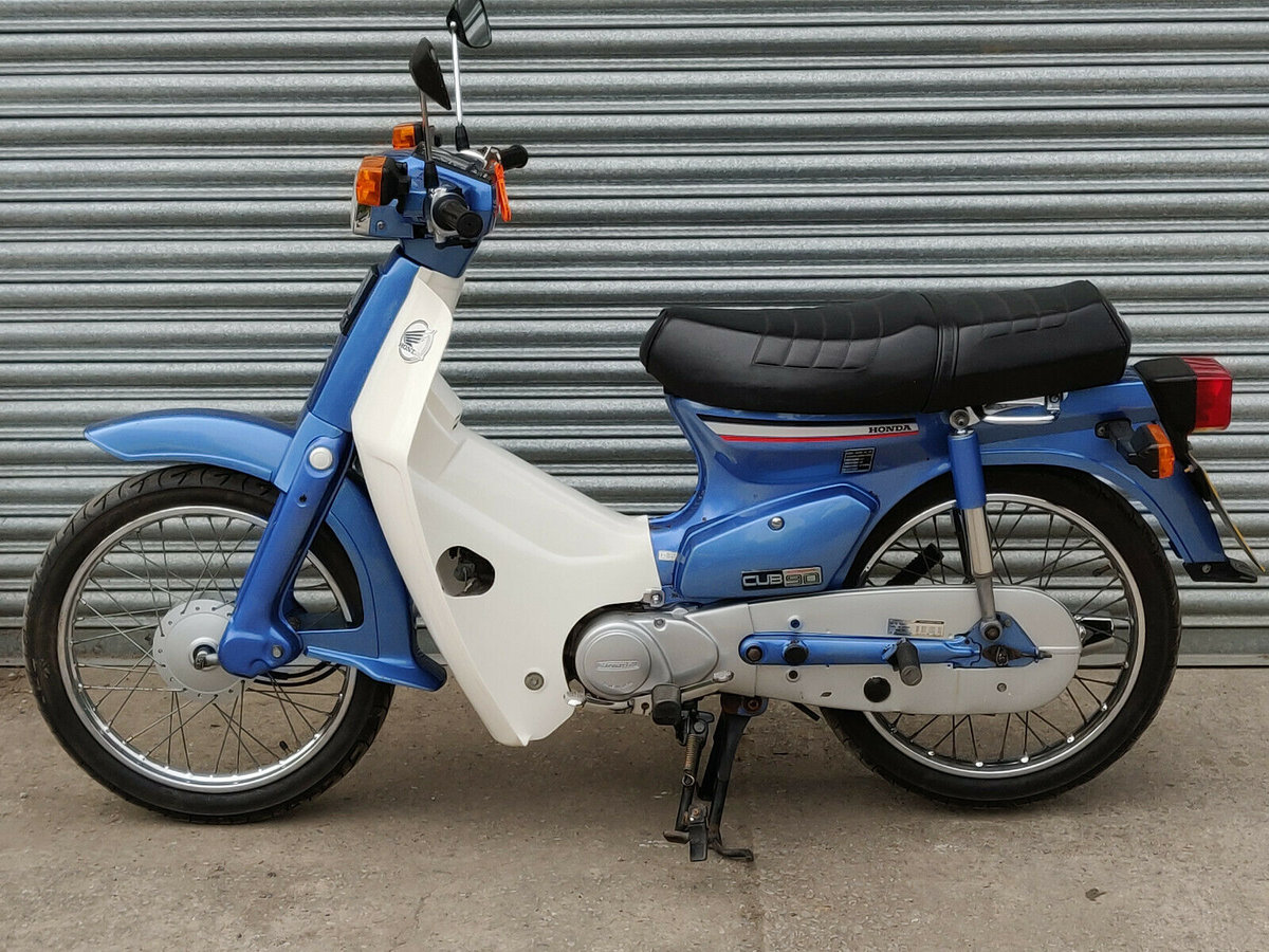 1991 Honda C90 Cub Economy 90. NOW SOLD For Sale (picture 1 of 6)