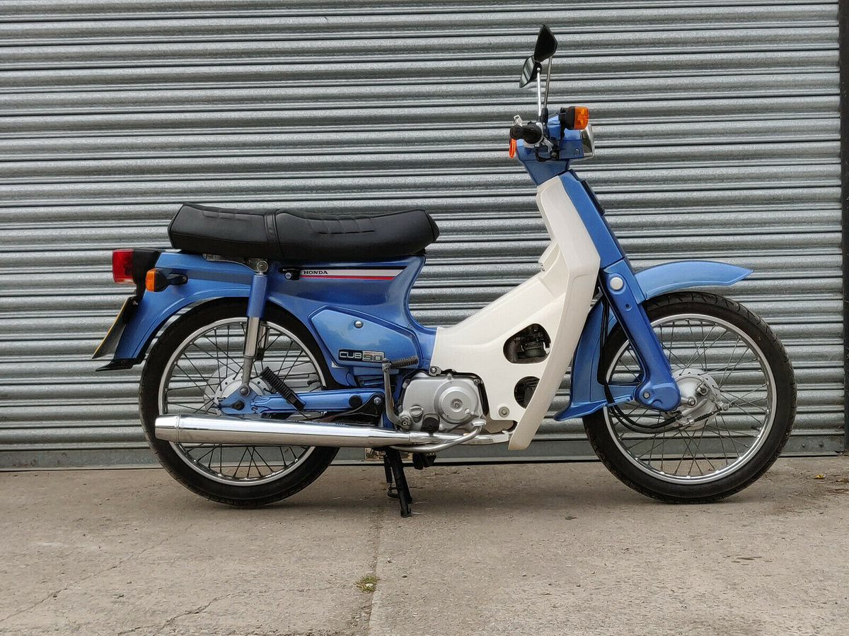 1991 Honda C90 Cub Economy 90. NOW SOLD For Sale (picture 2 of 6)