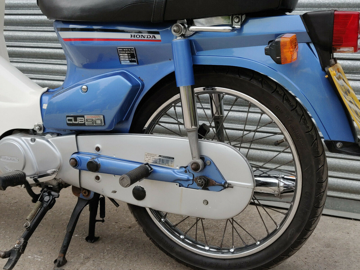 1991 Honda C90 Cub Economy 90. NOW SOLD For Sale (picture 3 of 6)