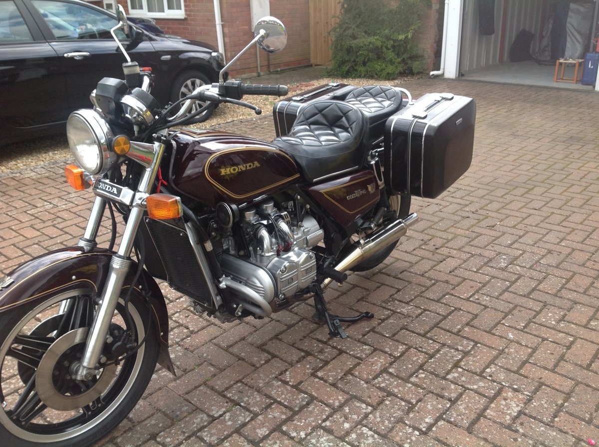 Honda GL1100 1980. UK Model 26750 miles. Reduced. SOLD (picture 1 of 6)