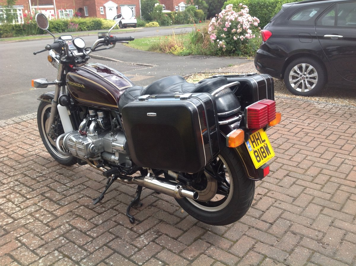 Honda GL1100 1980. UK Model 26750 miles. Reduced. SOLD (picture 2 of 6)