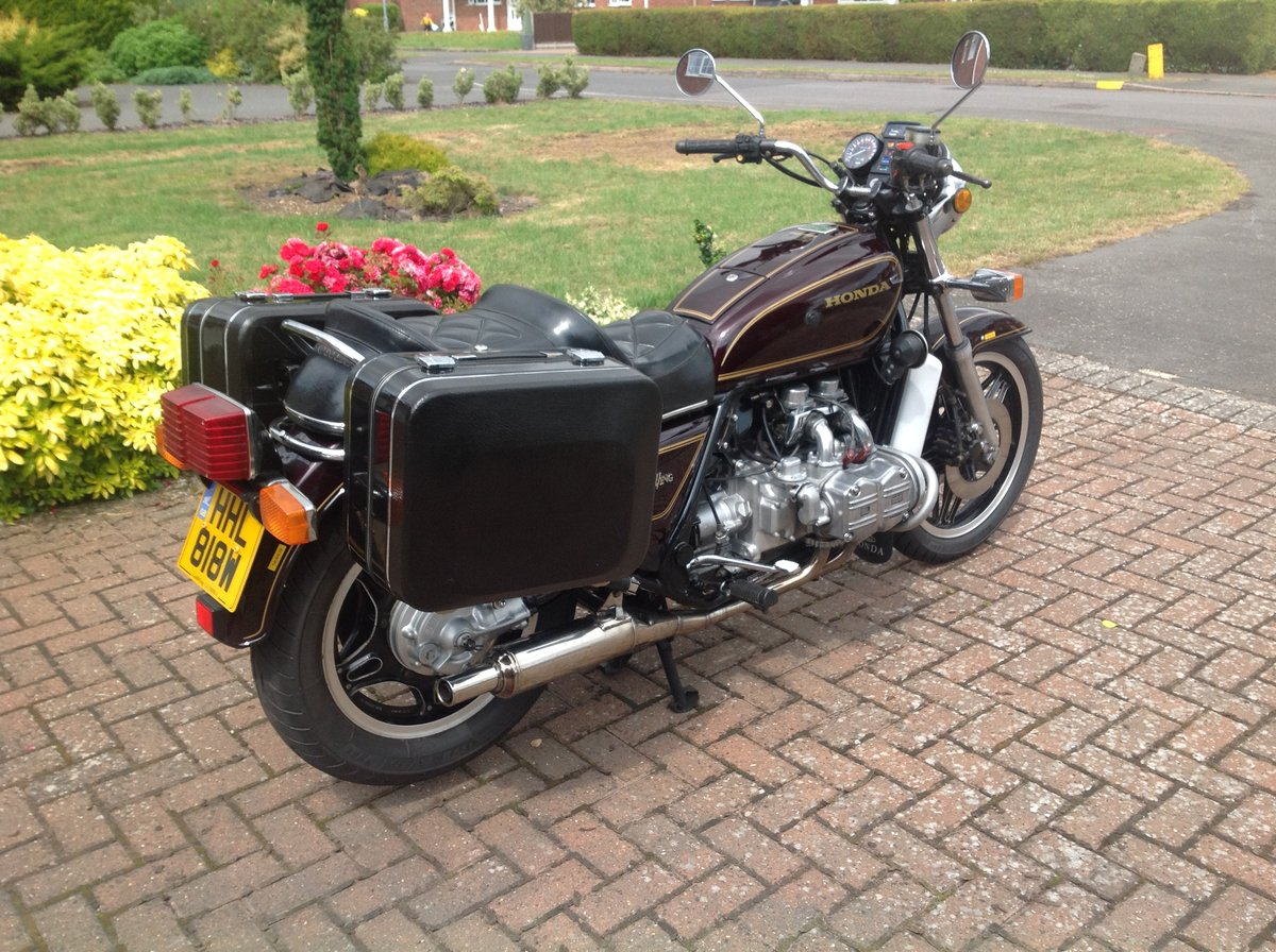 Honda GL1100 1980. UK Model 26750 miles. Reduced. SOLD (picture 3 of 6)