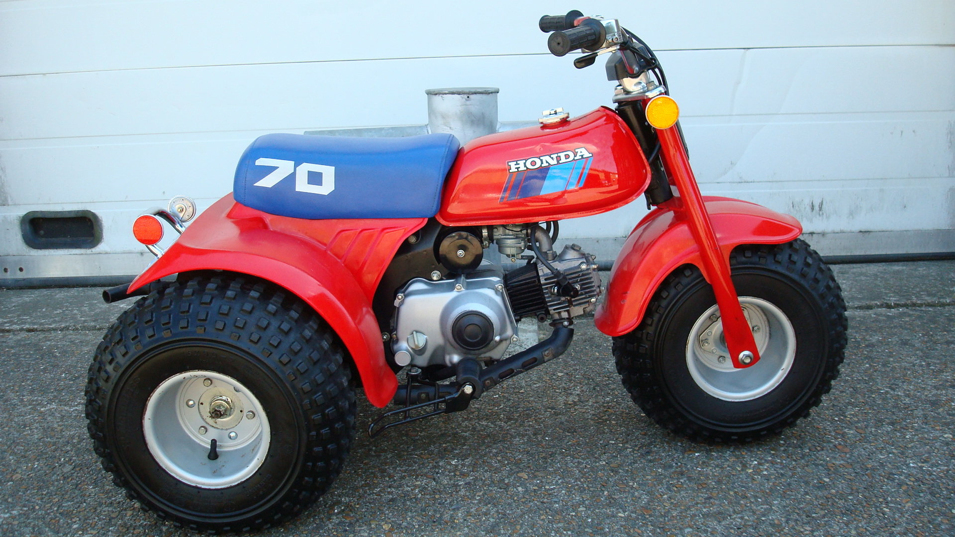 Honda ATC 70 ALL TERRAIN CYCLE 1985 **UN-RESTORED** SOLD (picture 1 of 6)