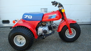 Picture of Honda ATC 70 ALL TERRAIN CYCLE 1985 **UN-RESTORED** SOLD