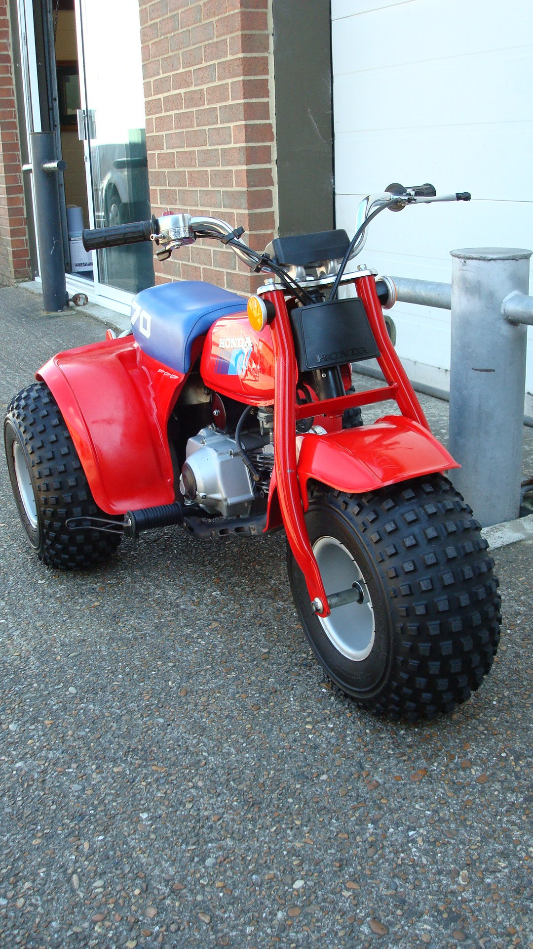 Honda ATC 70 ALL TERRAIN CYCLE 1985 **UN-RESTORED** SOLD (picture 2 of 6)