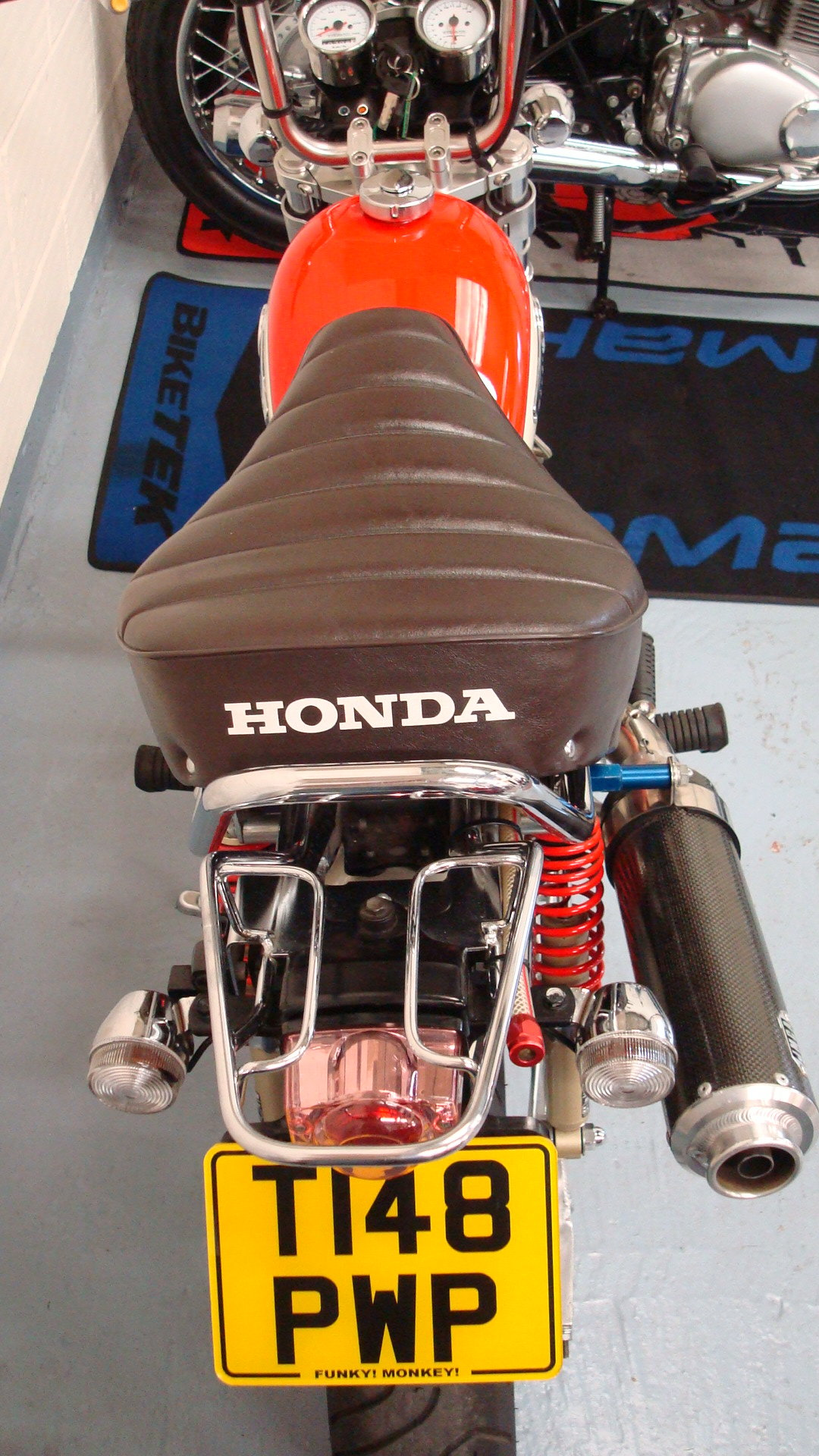 Honda Z50 J MONKEY BIKE SPECIAL 1999-T **1 LADY OWNER** For Sale (picture 5 of 6)