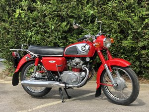 Honda CD 175 1972 Fully Restored In Beautiful Red !!!! For Sale
