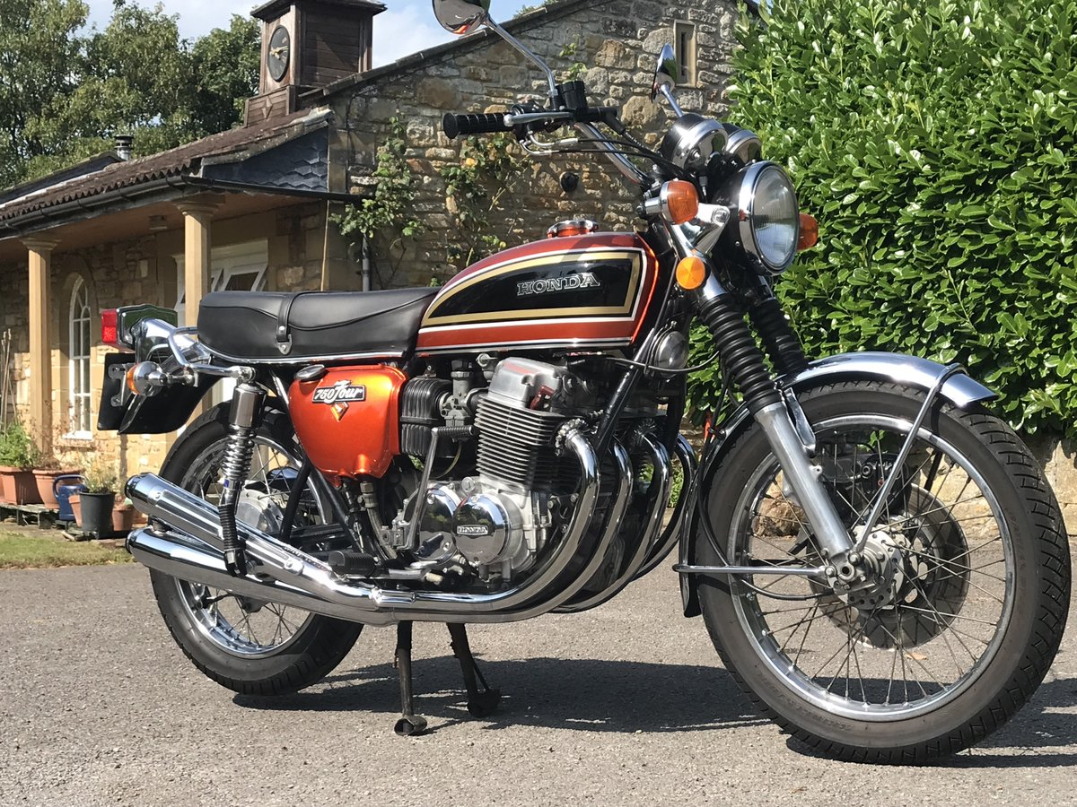 1974 Honda CB750 K4 - Lovely Example - Videos and Hi-res pics For Sale (picture 1 of 6)