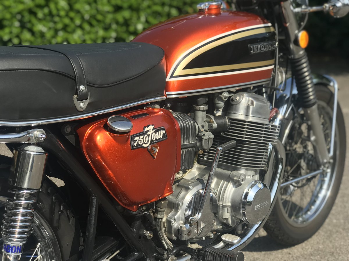 1974 Honda CB750 K4 - Lovely Example - Videos and Hi-res pics For Sale (picture 5 of 6)
