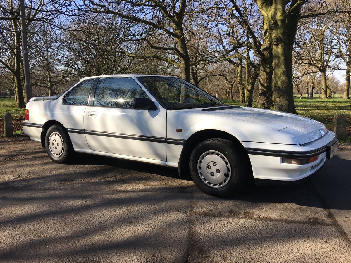 1989 Low mileage immaculate Honda Prelude 2.0Ex Manual SOLD (picture 2 of 6)