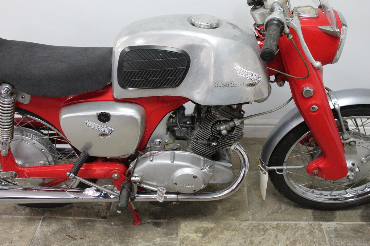 1964 Honda CB92 125 cc Benley Super Sports  SOLD (picture 4 of 6)