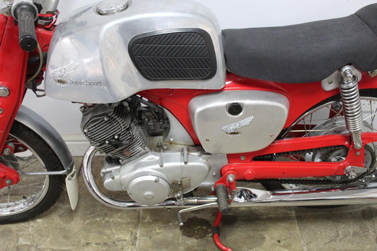 1964 Honda CB92 125 cc Benley Super Sports  SOLD (picture 6 of 6)