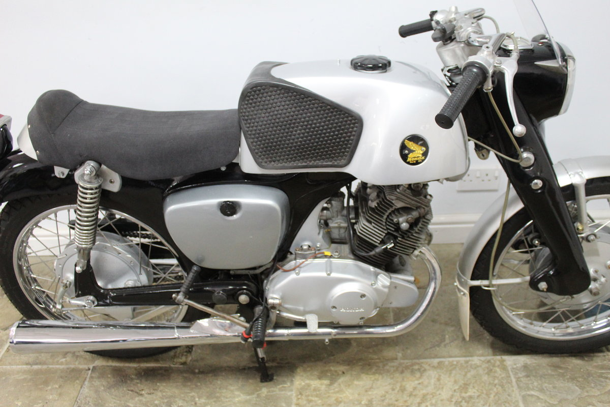1960 Honda CB95 150 cc Benly Super Sports  For Sale (picture 3 of 6)