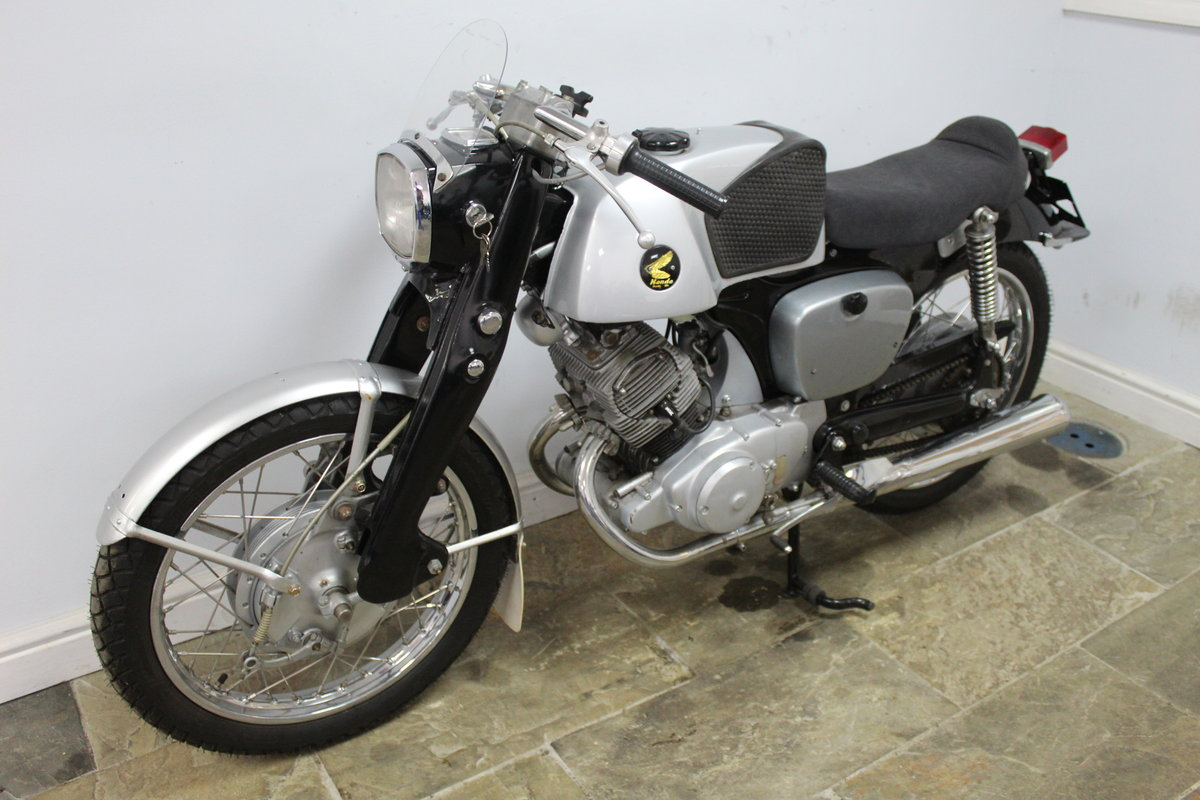1960 Honda CB95 150 cc Benly Super Sports  For Sale (picture 5 of 6)