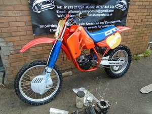 HONDA CR500 R WATER COOLED MOTO X EVO SCRAMBLER 1985 SOLD