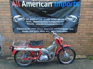 HONDA CT90 TRAIL MOPED MOTORBIKE(1969)RED! 13K!
