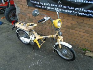 HONDA EXPRESS 50cc NC50 (1979) YELLOW! 498 MILES!  For Sale