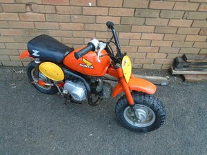 1983 HONDA Z50R MONKEY BIKE SOLD