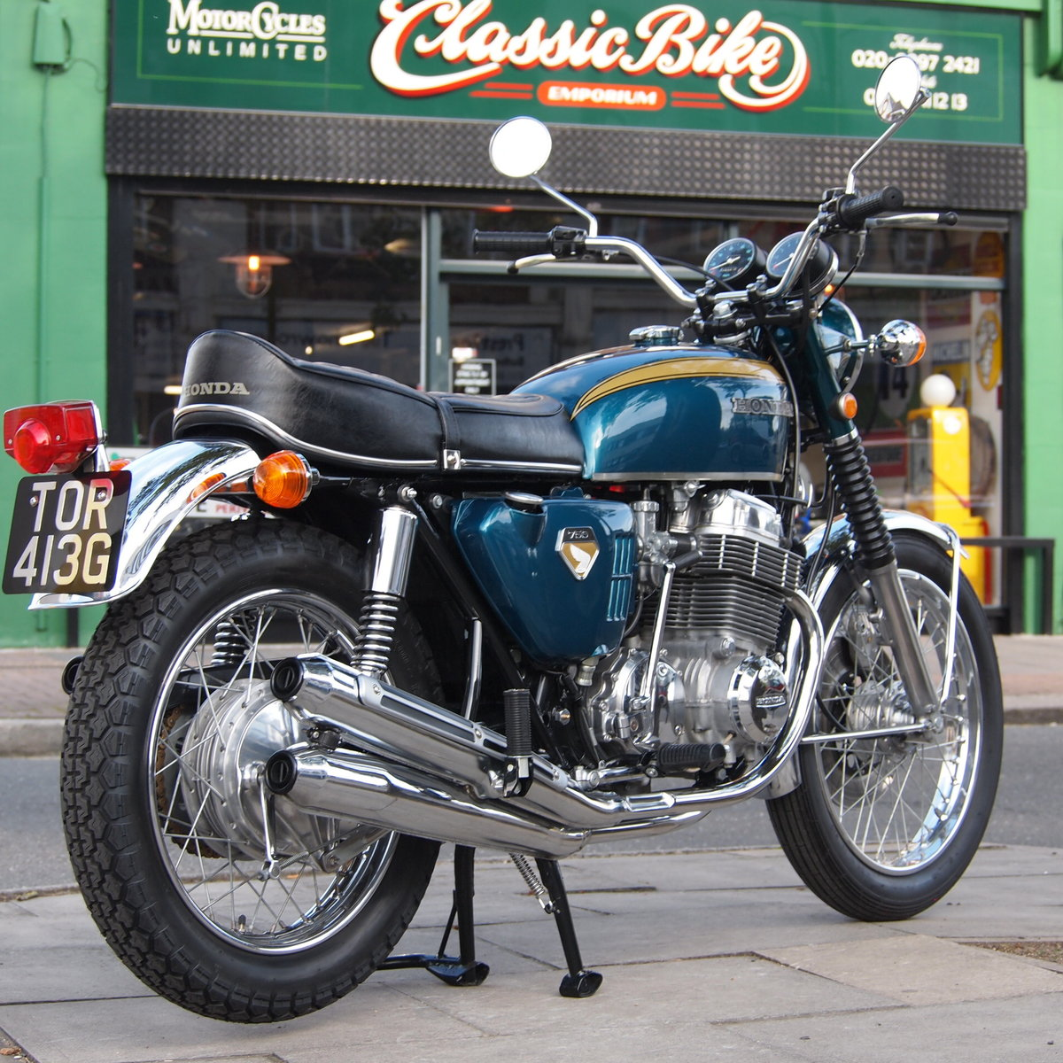 1969 Early CB750 Sandcast, RESERVED FOR GIULIO. SOLD (picture 1 of 6)