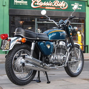 1969 Early CB750 Sandcast, Buily By Frank at Mcu. For Sale