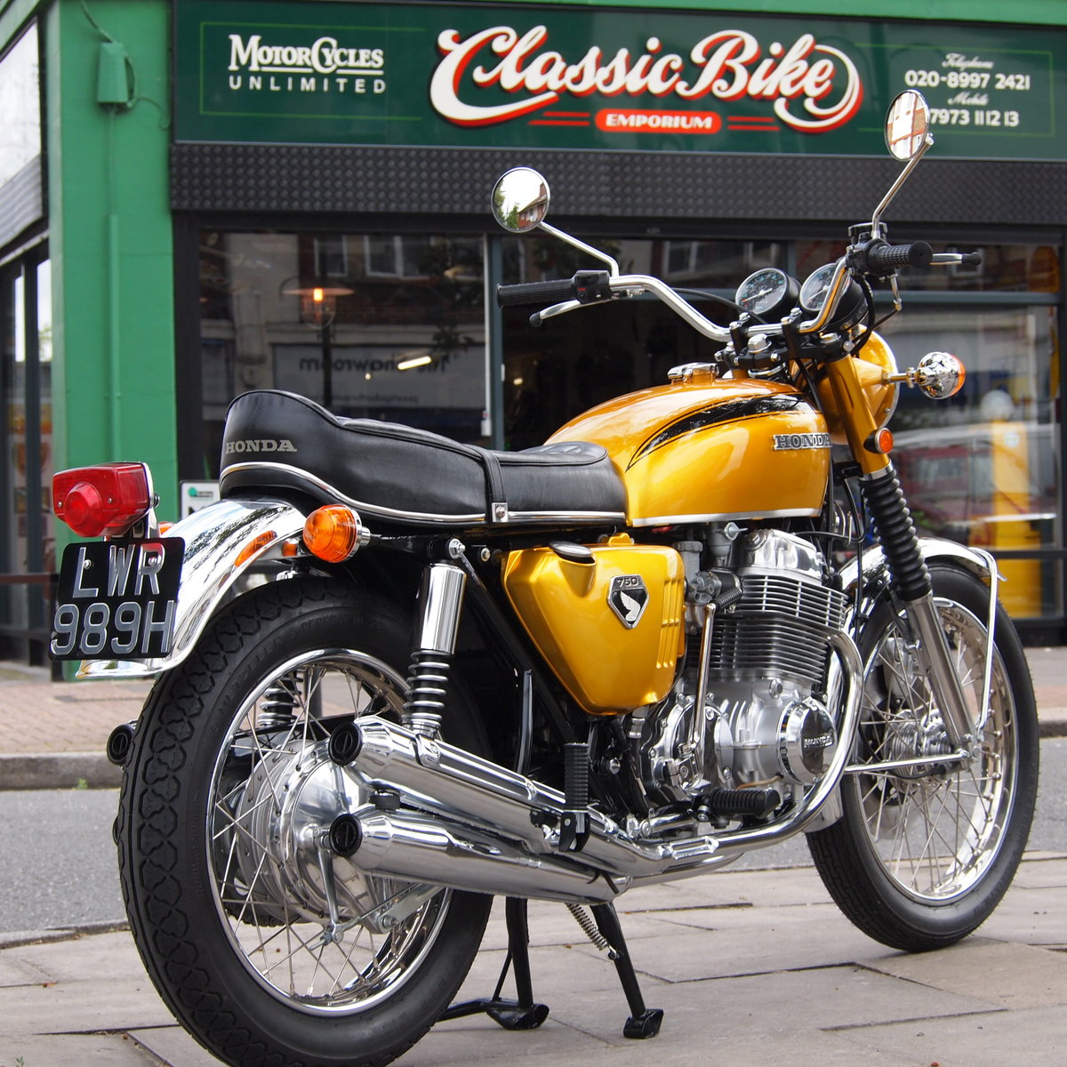 1970 CB750 K0 SOHC Not Just Restored But Very Exact. For Sale (picture 1 of 6)