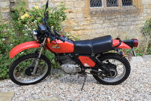EXTRA LOT: Lot 114 - A 1980 Honda XL500S - 10/08/2019 SOLD by Auction