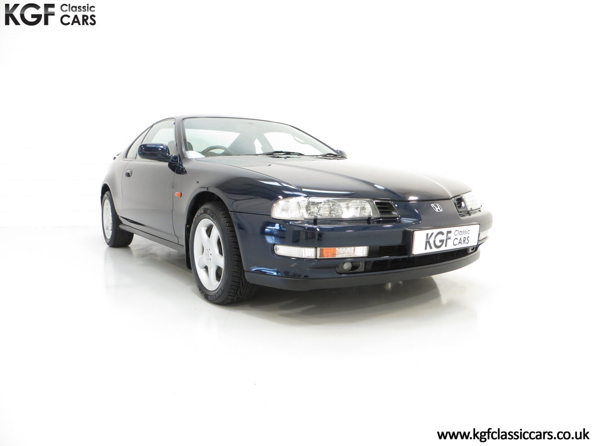1996 An Amazing Honda Prelude 2.2i Vtec with 52,051 Miles For Sale (picture 1 of 6)