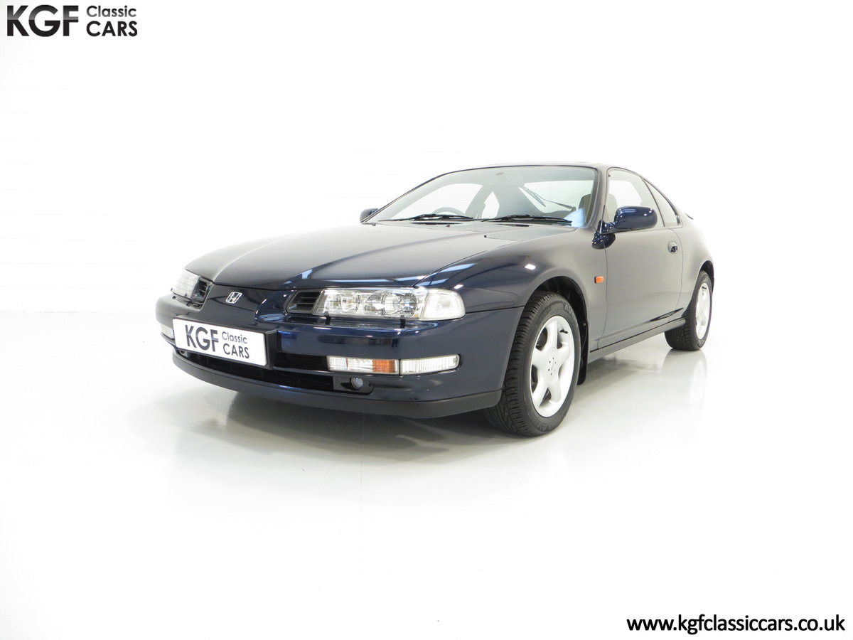 1996 An Amazing Honda Prelude 2.2i Vtec with 52,051 Miles For Sale (picture 2 of 6)