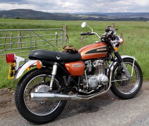 1976 Honda cb550/four.  SOLD