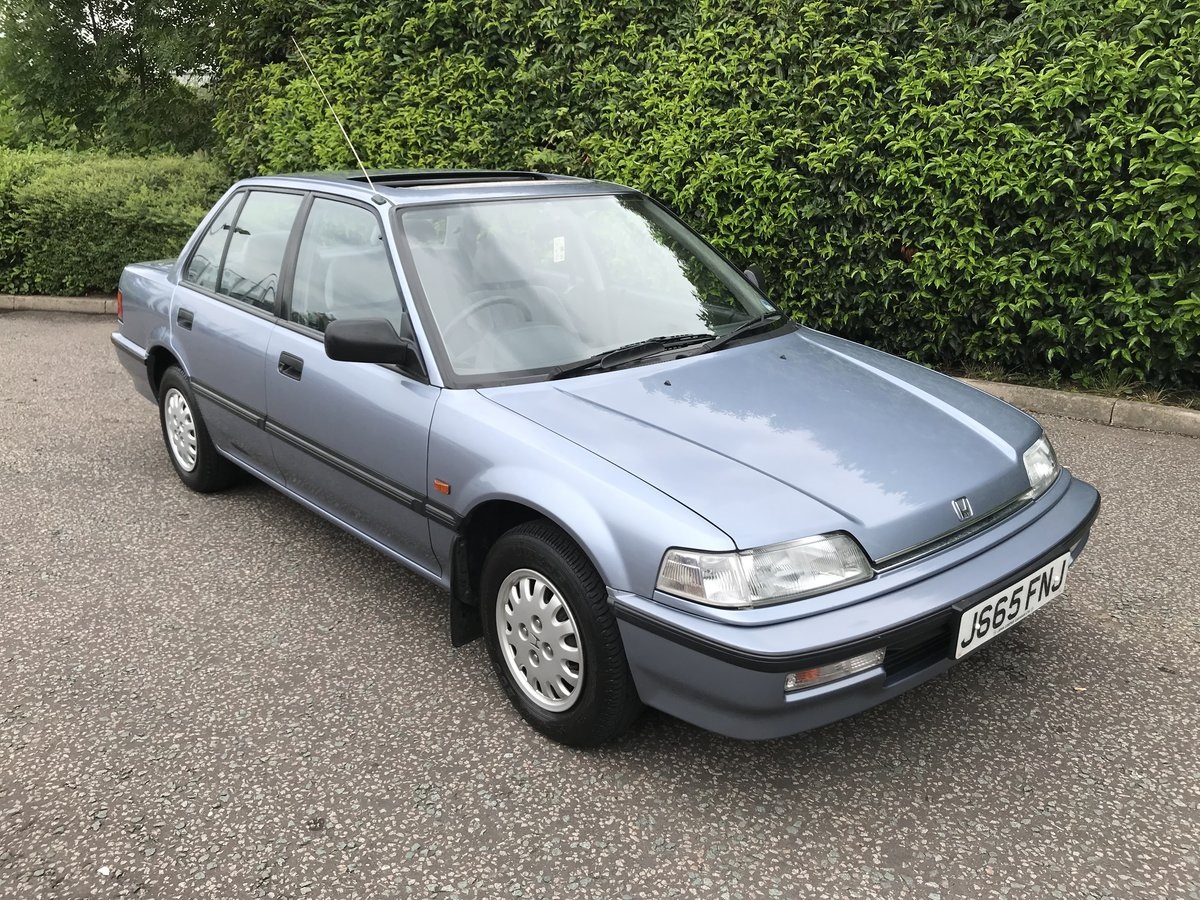 1991 HONDA CIVIC 1.4 GL LOW MILEAGE FHSH 1 OWNER For Sale (picture 1 of 6)