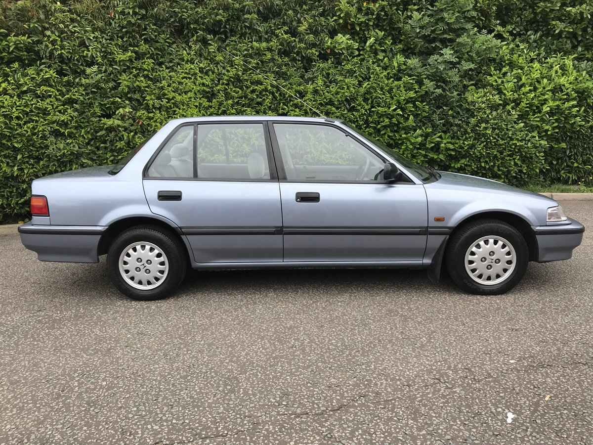 1991 HONDA CIVIC 1.4 GL LOW MILEAGE FHSH 1 OWNER For Sale (picture 3 of 6)