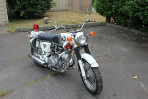 1970 Honda 450 Police Motorcycle - Lot 613 For Sale by Auction