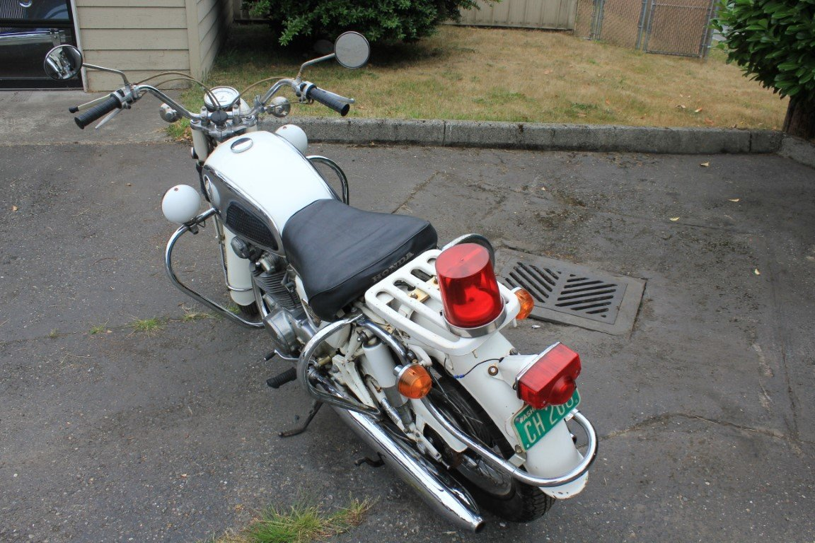 1970 Honda 450 Police Motorcycle - Lot 613 For Sale by Auction (picture 3 of 6)