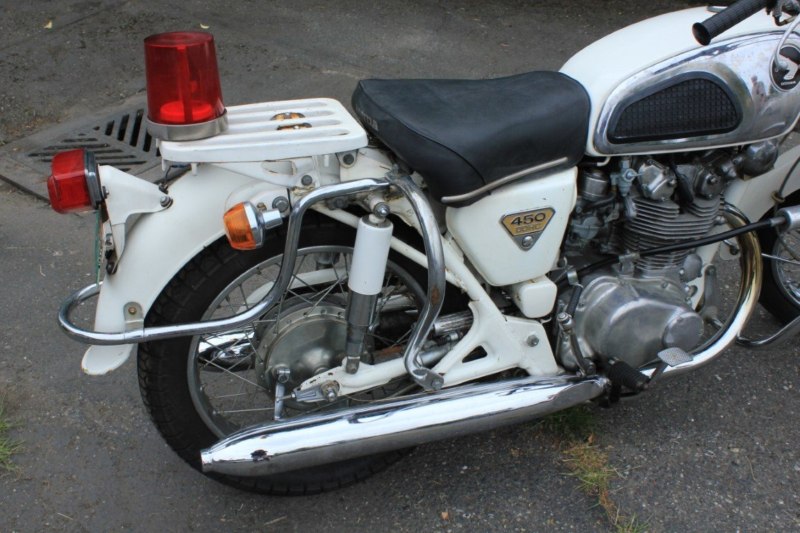1970 Honda 450 Police Motorcycle - Lot 613 For Sale by Auction (picture 6 of 6)