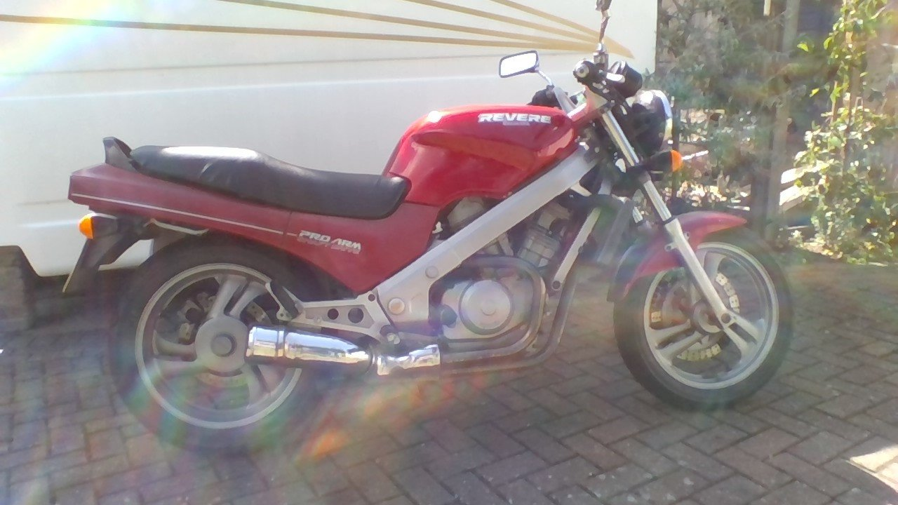1988 honda revere 600 v twin For Sale (picture 1 of 6)