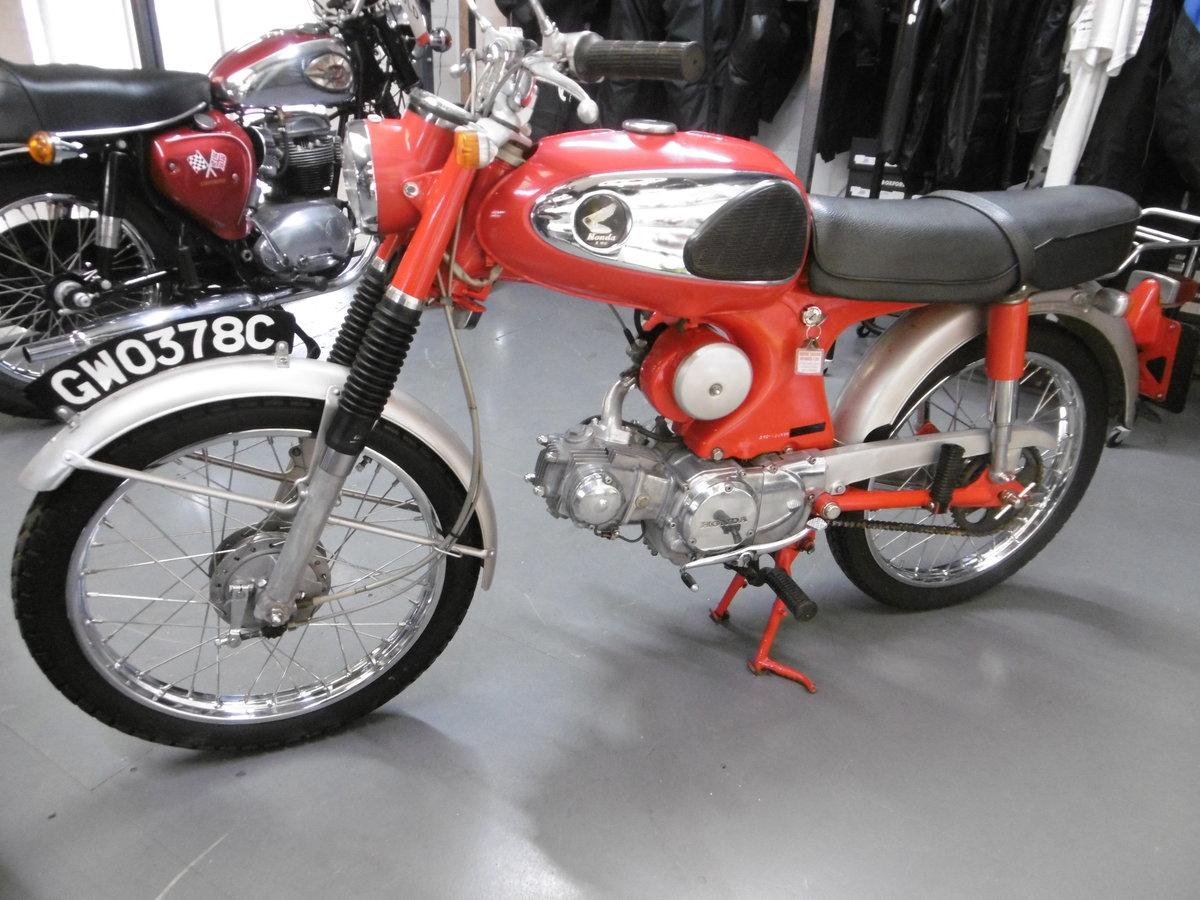 1965 Honda S90 Stunning timewarp bike  SOLD (picture 1 of 6)