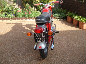 1969 HONDA cd 175 Sloper