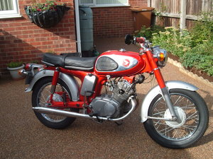 1969 HONDA cd 175 Sloper For Sale