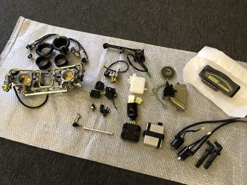 Honda VTR 1000 SP1 / 2, Mondial Piega Spare Parts For Sale (picture 1 of 6)