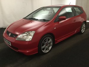 2002 Honda Civic type R EP3 68000 Miles FSH For Sale