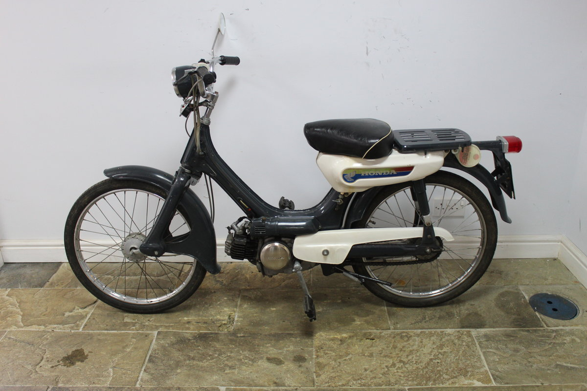 1972 Honda PC50 Classic Moped , Tax and MOT Exempt  SOLD (picture 4 of 6)