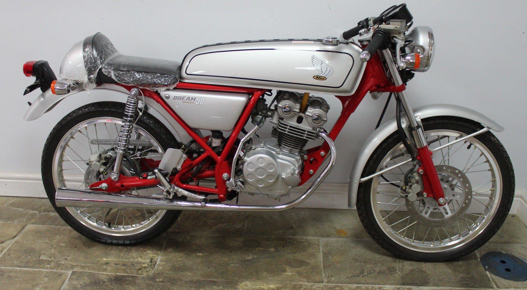 1997 Honda AC15 Or 50 cc Dream  LTD Edition NO MILES SOLD (picture 1 of 6)