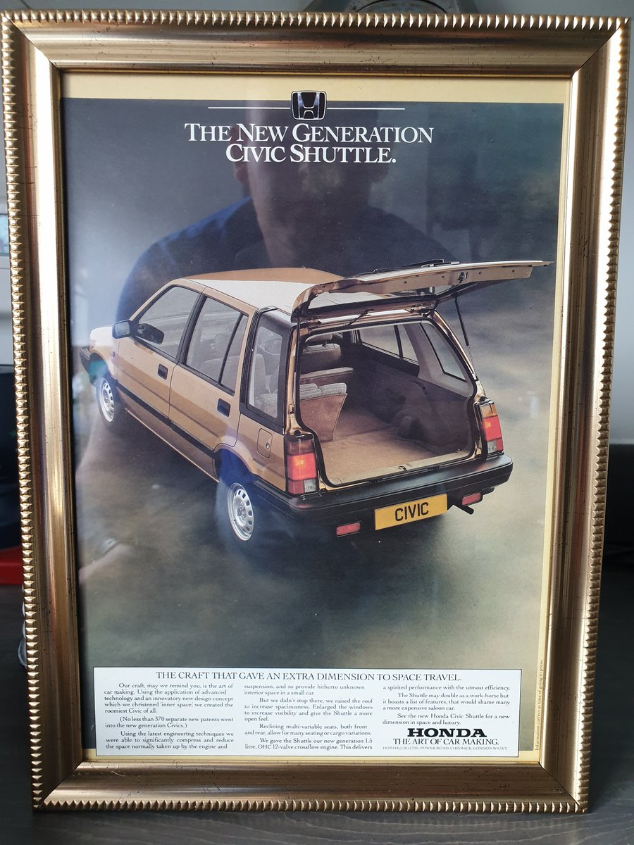 1984 Honda Civic Advert For Sale (picture 1 of 2)