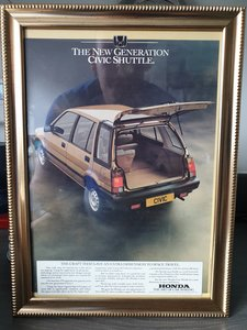 1984 Honda Civic Advert