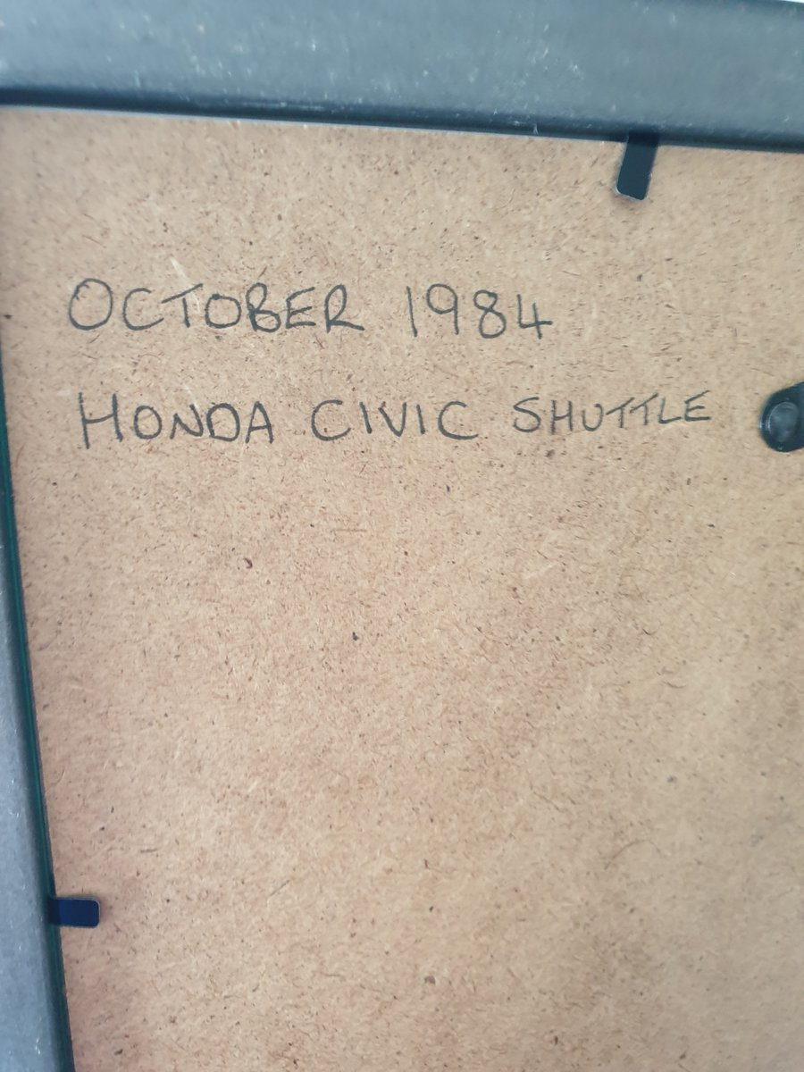 1984 Honda Civic Advert For Sale (picture 2 of 2)