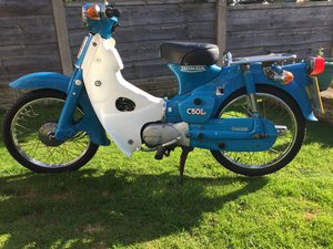 1981 Honda C50 L only 11000 miles For Sale